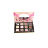 Romantic design beauty cosmetic high pigmented eyeshadow palette