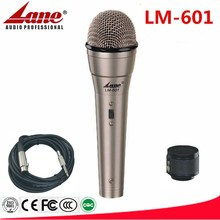 Lane wired Cardioid pickup microphone metal case LM-601