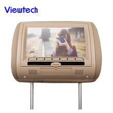 Easy installation Wholesale Shenzhen 9 inch auto dvd headrest with wireless game factory