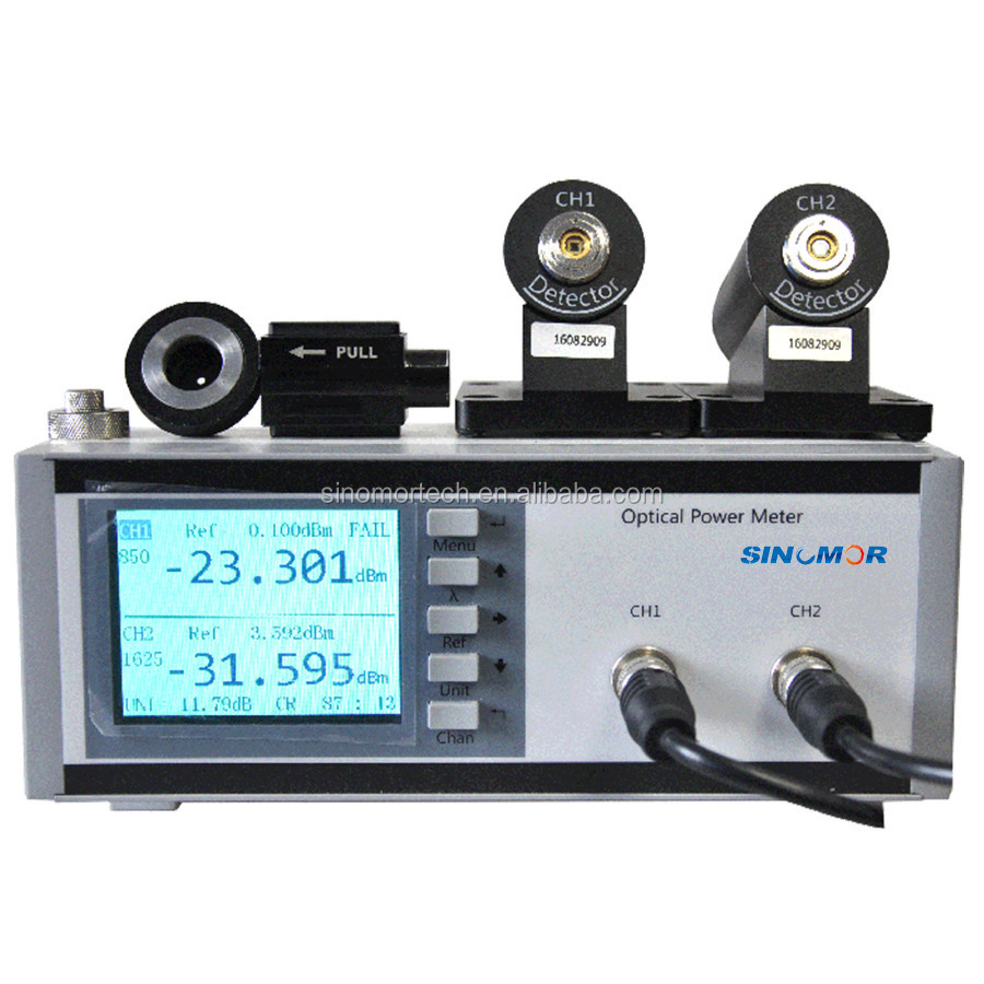 BPM3100N Fiber Optical Power Meter 1m Step,Single or Dual Channel,Built-in Or External Connector