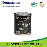 High quality acrylic Paint price low/water based black board paint