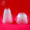 hand blown pyrex borosilicate glass lamp cover light shade