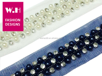 handmade beaded lace in available fashion in european 2.2cm width