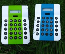 2016 new design dual power two power cheap solar desktop calculator