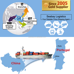 ocean containers shipping to portugal