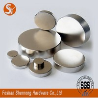 Super strong rare earth permanent magnet with round shape made in China