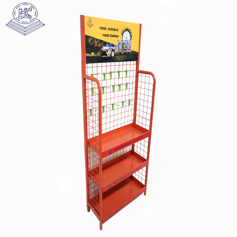 ODM durable car battery metal display shelf