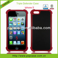 for iphone 5G case plastic hybrid case
