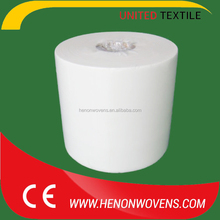 70%Cellulose30%pp nonwoven wipes roll for industrial cleaning