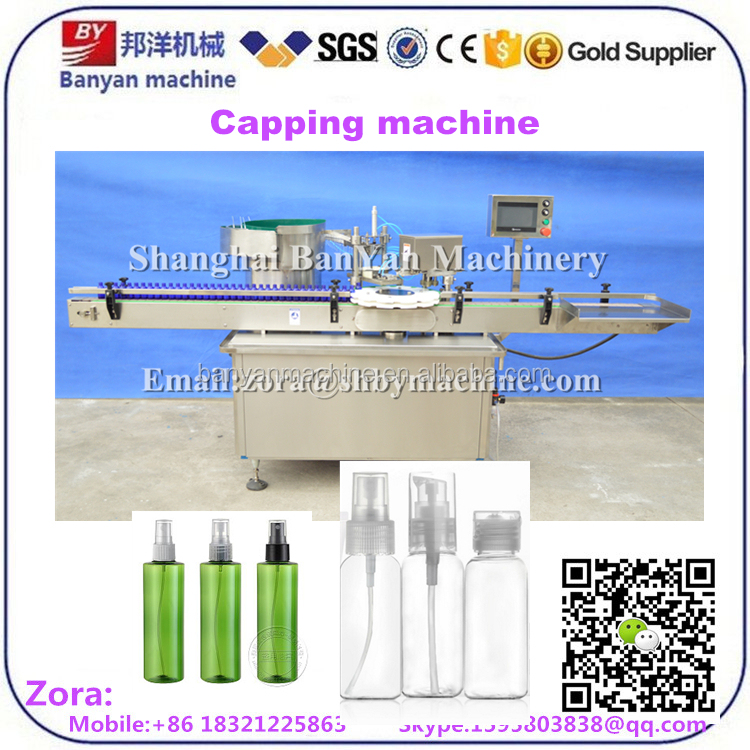Plastic bottle cap sealing machine, wine bottle screw cap machine Bottle sealer