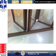 Hot Sales home window Bi Folding Glass Door