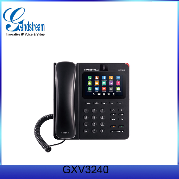 Grandstream SIP phone GXV3240 price good with Android Operating System 4.2