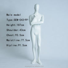 Human Body Model Career Apparel Male Model Stage Property Full-body