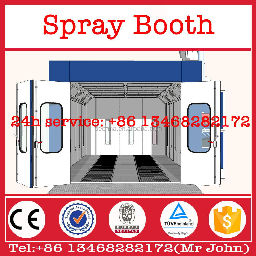 Car spray paint booth used spray booth for sale