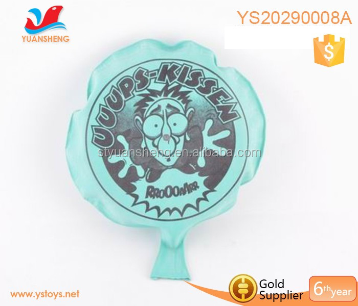 2018 Wholesale fart bomb joking gift toys whoopee cushion 6.5 inch welcome custom inflatable whoope cushion