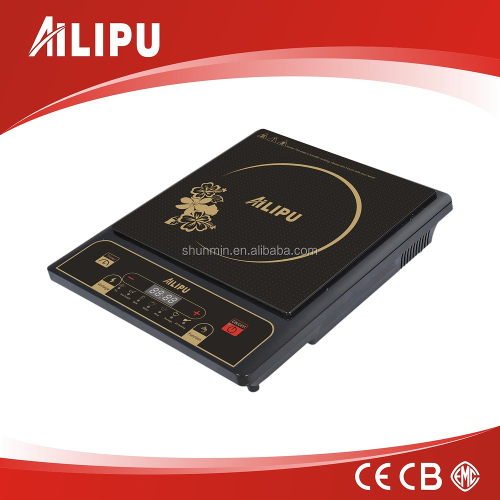 2000w kitchen equipment portable solar induction cooker