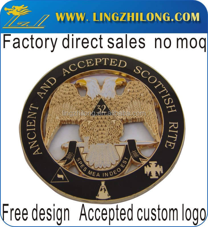 32 eagle masonic car emblem, masonic car emblems, car badge