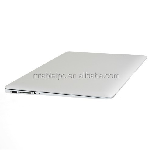 13.3inch Aluminium laptop notebook computer 4GB ram and 128GB SSD 6800mAh battery Intel I5 WIFI bluetooth
