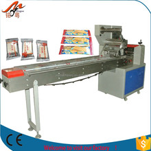 New Type Automatic best selling pillow bread/cake/cereal bar packing machine