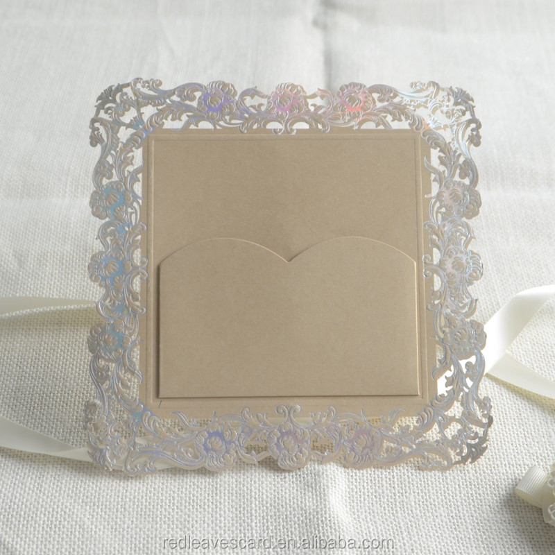 Alibaba wedding card suppliers hot salling 300g Matte Coated Card Paper