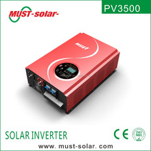 Solar inverter Single Output Type and 1 - 200KW Output Power Off grid solar inverter