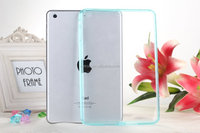 Hot sale soft dustproof transparent tpu acrylic case for ipad mini4/ipad5