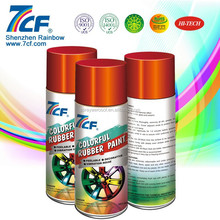 High Quality Shenzhen Rainbow 7CF Fast Dry Acrylic Clear Coat Spray Paint for cars