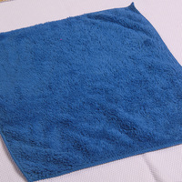 Top quality 40*40 lint free microfiber cloth for vehicle window micro fleece towels