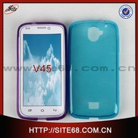 Ultra Thin Cell Phone Jelly TPU Cover Case for Nextel V45