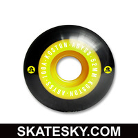 KOSTON pro PU casting skateboard wheels WH010, 52mm two colour wheels in 100a durometer