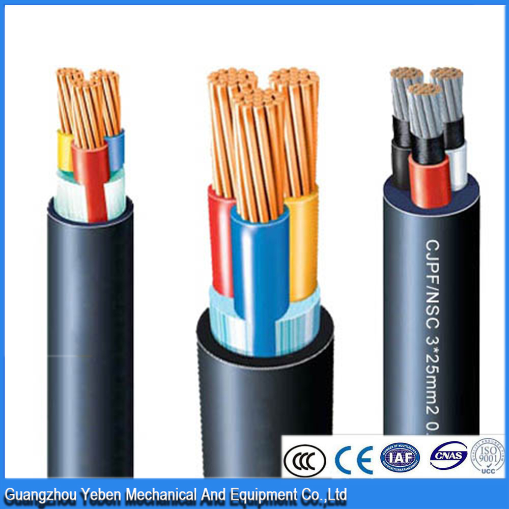 Mechanical and electrical 0.6/1kv ERP xlpe 70mm2 500mm2 three phase neoprene marine power cable