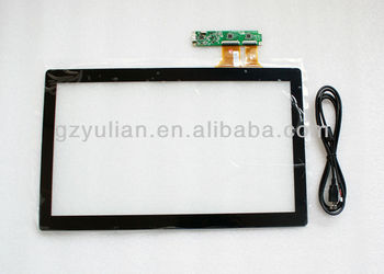 12'' capacitive screen/ multi touch screen/desktop capacitive touch screen