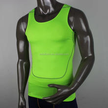custom made design mens compression tight t-shirt,body fitting garments