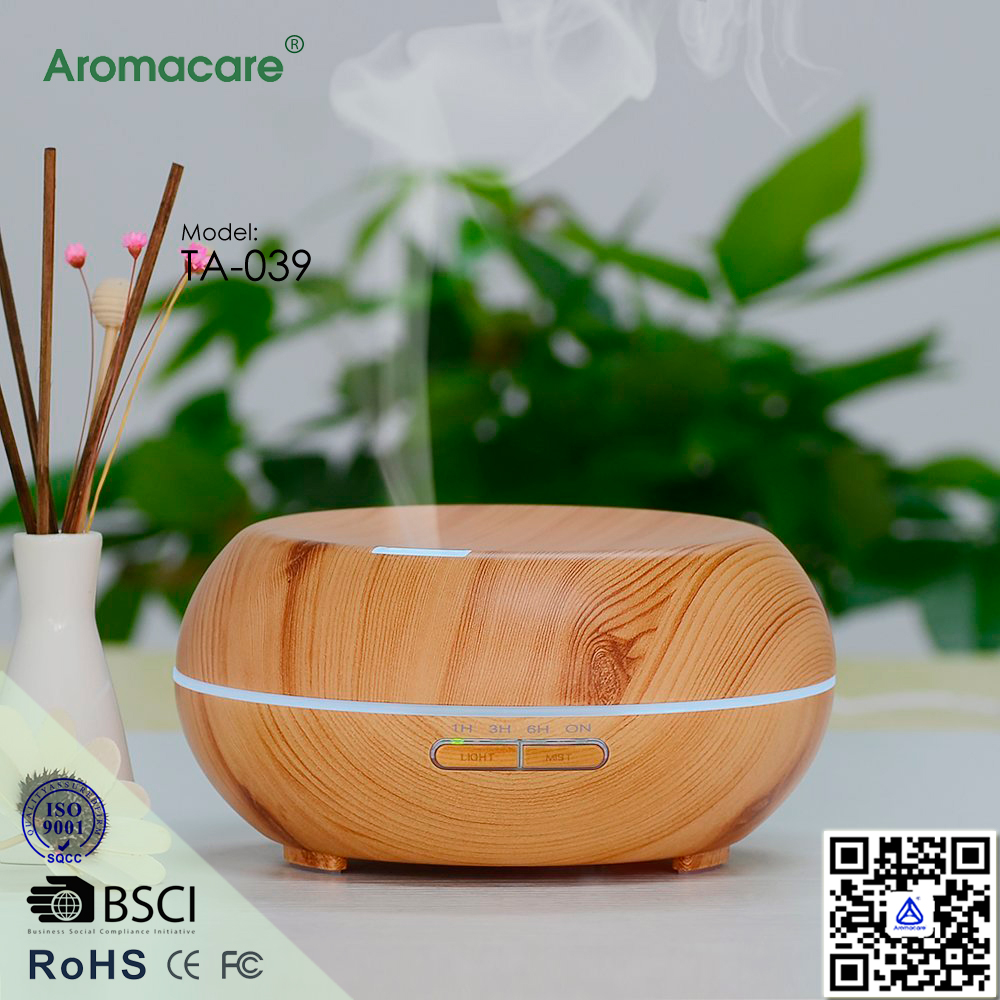 Aromacare Aromatherapy Diffuser Ultrasonic Cool Mist Aroma Humidifier with Timer Adjustable Mist
