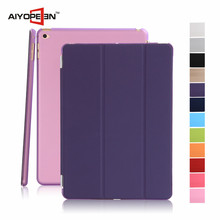 Wholesale hot sales PU and PC case Tablet Protective Case folded 3 styles for ipad mini 4