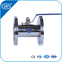 PN2.5 material SS304 or 316L wide type ball valve for water and gas and oil