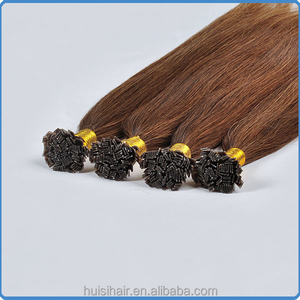 Fast shipping dropshipping can be available adhesive tape prebonded keratin human hair half wigs flat tip bonded