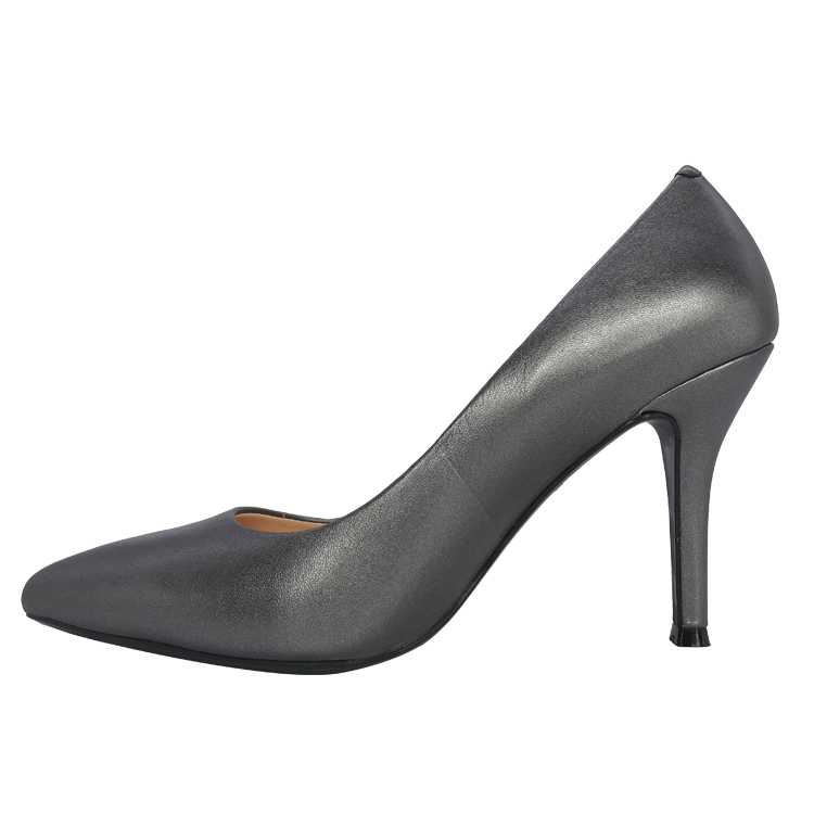 Office lady dress shoes genuine leather high <strong>heel</strong>