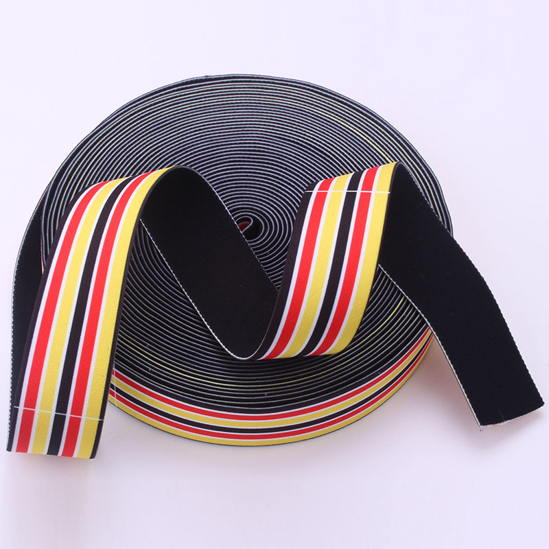 Best Selling Heavy Duty Polyester Sofa Elastic Webbing For Furniture