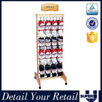wire display stand,white wire shelving,display stand for socks
