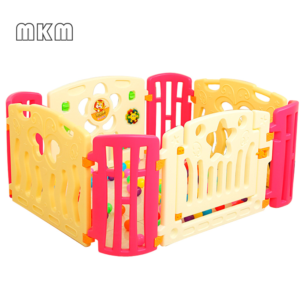 2018 newest durable plastic baby playpen, large baby play pen