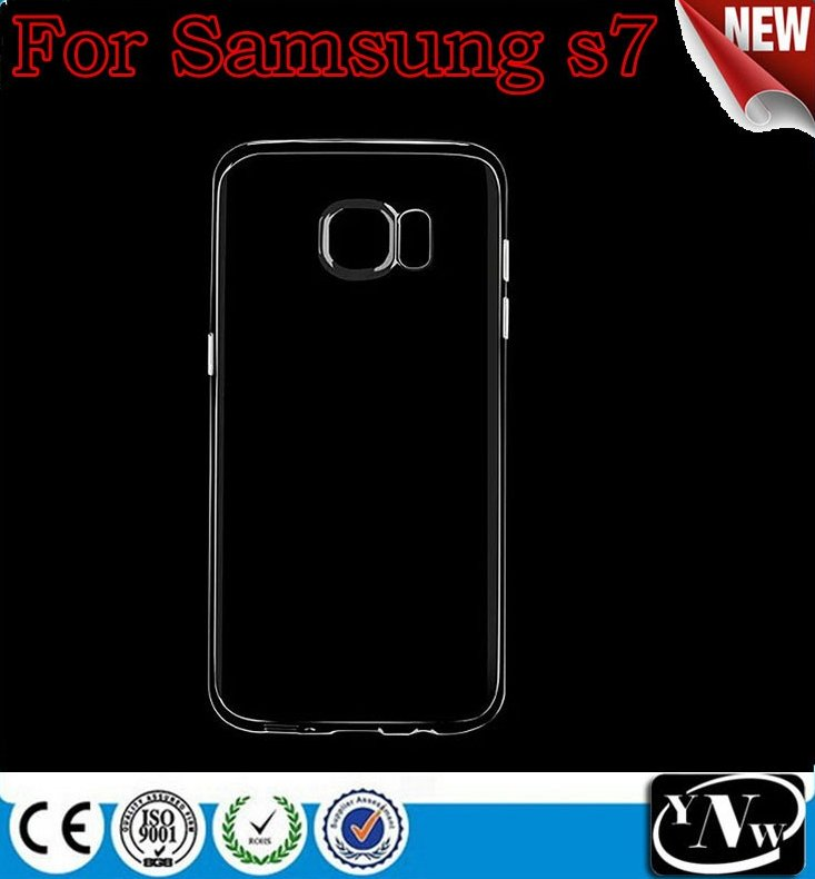 2016 China supplier Wholesale price High quality ultra thin clear soft Tpu case for Samsung galaxy S7/ S7 edge