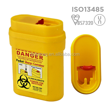 0.2L travel sharps container wholesales cheap