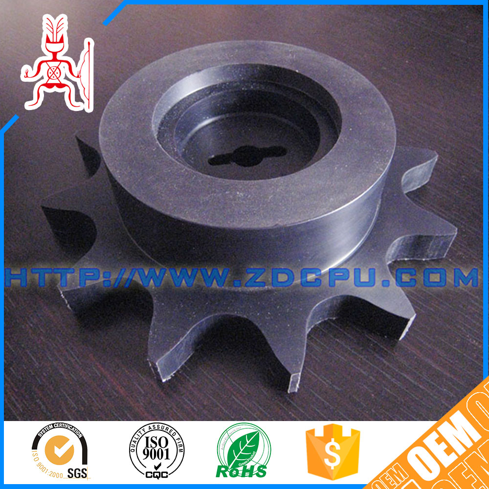Factory durable molded high precision printer plastic gear