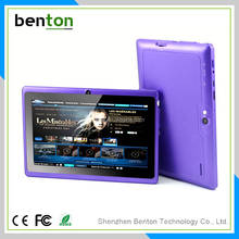 High standard 7inch android tablet pc with Boxchip A13 quad core CPU