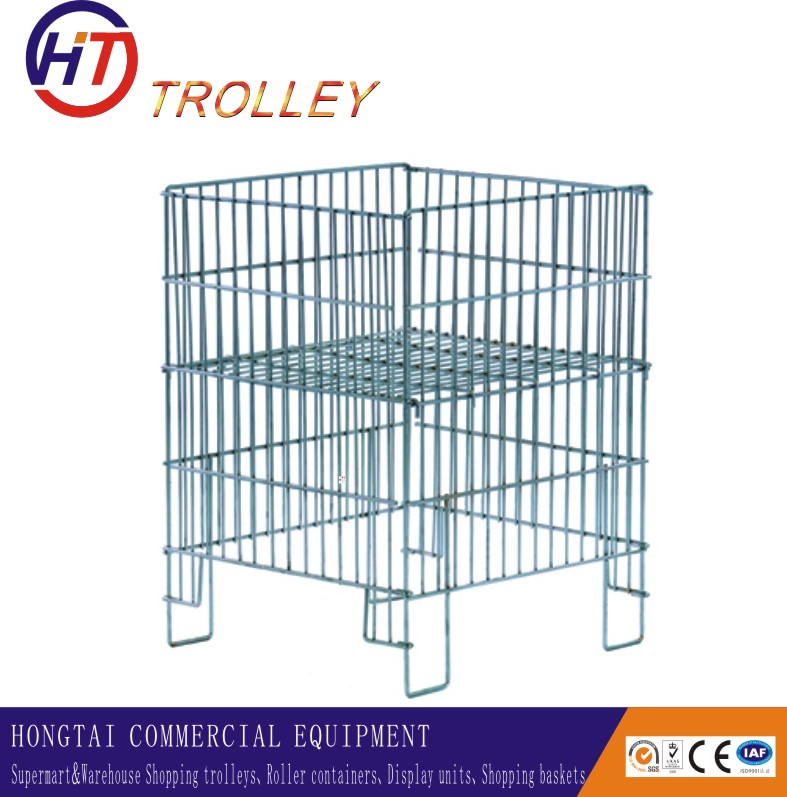 Superb Metal Folding Wire Dump Bin for Display Products