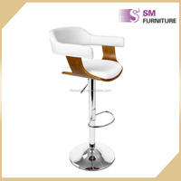 Hot sale china swivel adjustable PU Leather Bar stool