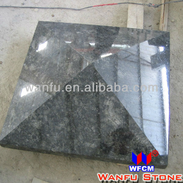 Decoration granite cap for garden