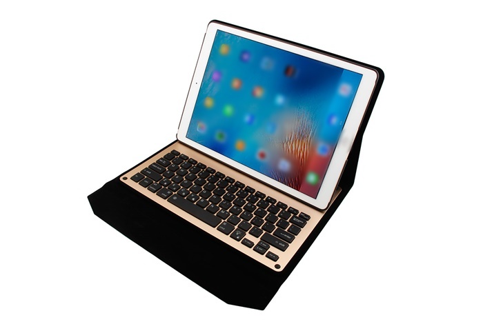 12.9inch Wireless tablets bluetooth 3.0 keyboard with protective flip case cover for ios ipad pro