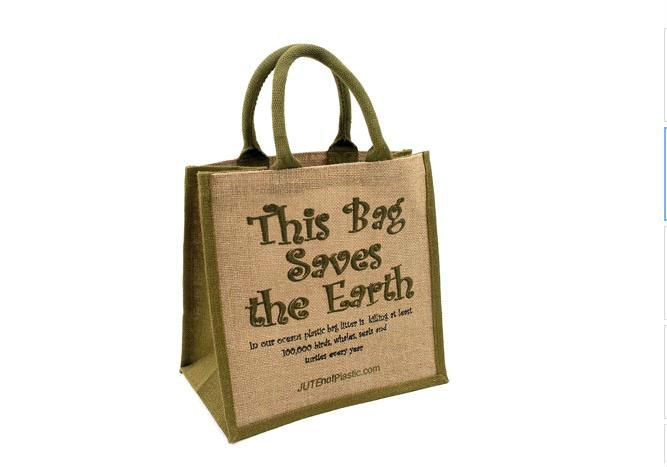 Eco-friendly biodegradable jute bags